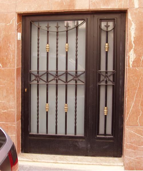 puertas y rejas de forja carpinter a met lica la villa